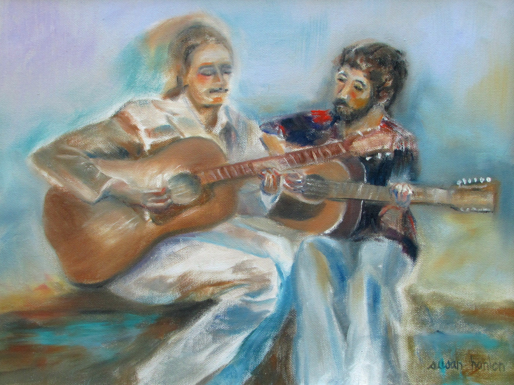 Brothers...Musicians 12x16
